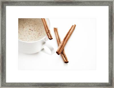 Eggnog Framed Print by HD Connelly