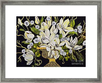 Elegance..... Framed Print by Tanya Tanski