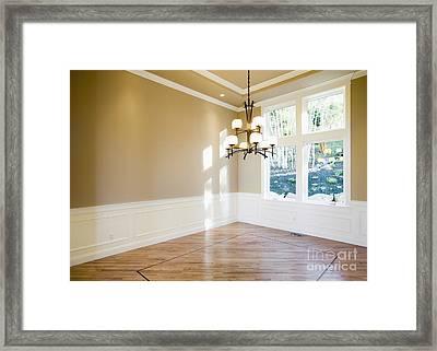 Empty Room Framed Print by Andersen Ross