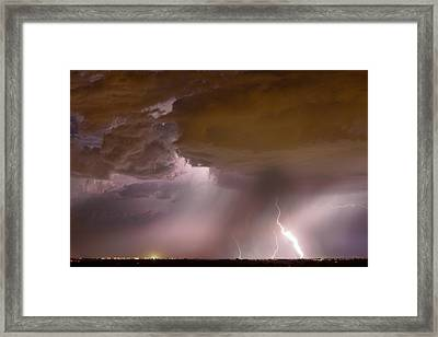 Energy Framed Print by James BO  Insogna