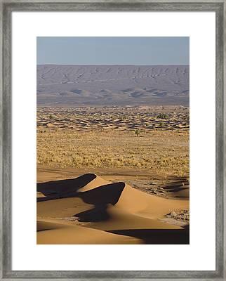 Erg Chigaga, Sahara Desert, Morocco, Africa Framed Print by Ben Pipe Photography