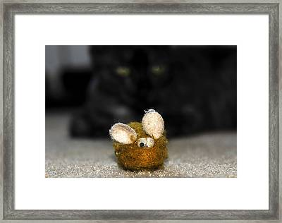 Eye On The Prize Framed Print by David Lee Thompson