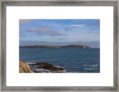 Falmouth Harbour  Framed Print by Brian Roscorla
