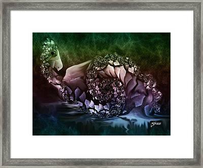 Fantasy Bird Framed Print by Julie Grace