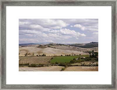 Farm Fields Framed Print by Jeremy Woodhouse