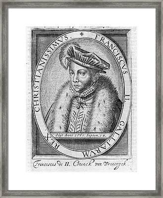 Francis II (1544-1560) Framed Print by Granger