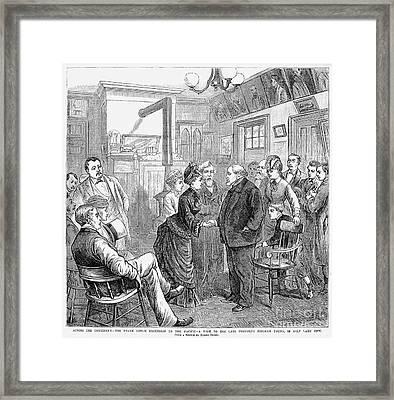 Frank Leslie (1821-1880) Framed Print by Granger