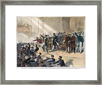 Frederick Douglass, 1860 Framed Print by Granger
