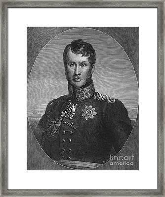 Frederick William IIi Framed Print by Granger