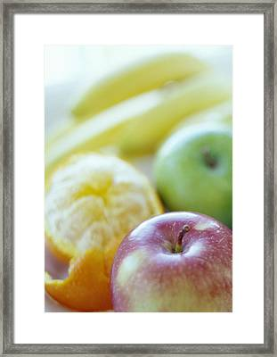Fruits Framed Print by David Munns