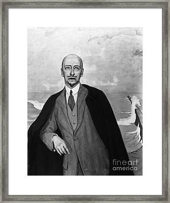 Gabriele Dannunzio Framed Print by Granger
