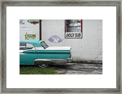 Galaxie  Framed Print by Lisa Plymell