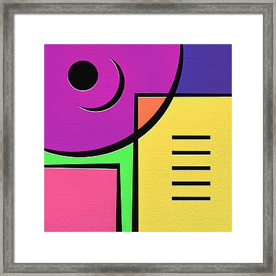 Games Framed Print by Ely Arsha