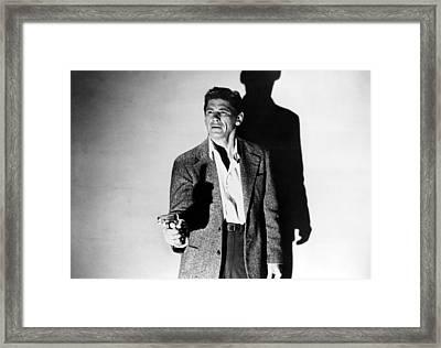 Gang War, Charles Bronson, 1958 Framed Print by Everett