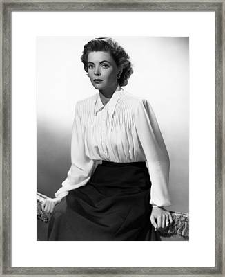 Gentlemans Agreement, Dorothy Mcguire Framed Print by Everett