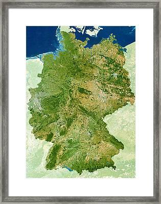 Germany Framed Print by Planetobserver