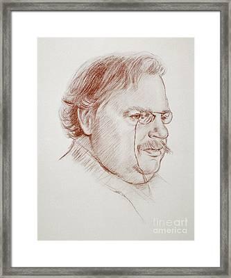 Gilbert Keith Chesterton Framed Print by Granger
