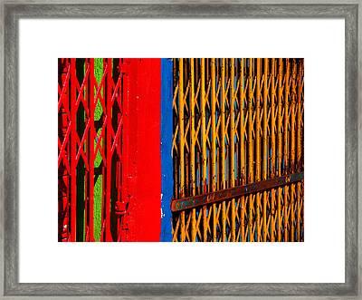 Gilded Cage Framed Print by Skip Hunt
