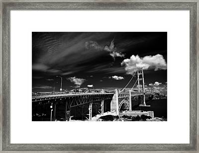 Golden Gate Framed Print by Ralf Kaiser