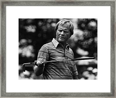 Golf Pro Jack Nicklaus, August, 1984 Framed Print by Everett