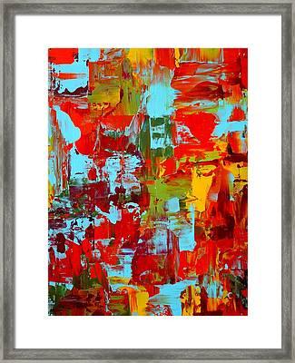 Granada Roadtrip Triptych II Framed Print by Holly Anderson