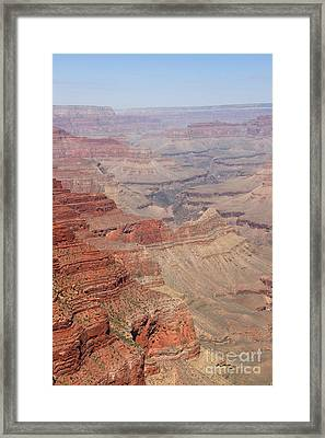 Grand Canyon National Park Usa Arizona Framed Print by Audrey Campion