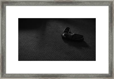Grandpa's Slippers Framed Print by Tristan Bosworth