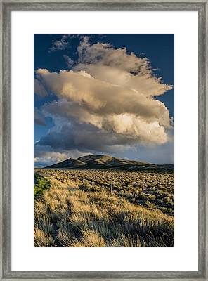 Great Basin Cloud Framed Print by Greg Nyquist