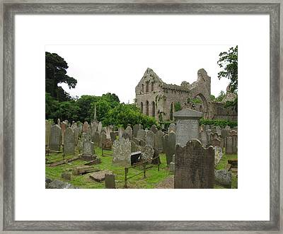 Greystone Abbey Framed Print by Lynn Lary