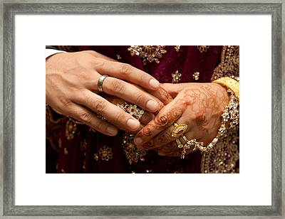 Hands Framed Print by Tom Gowanlock