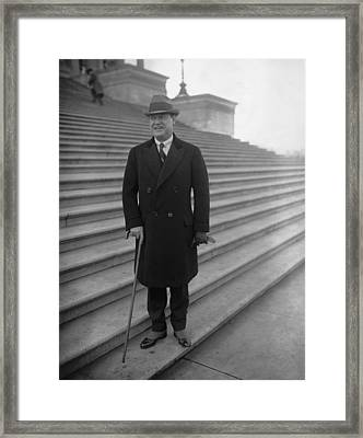 Harry F. Sinclair 1876-1956, President Framed Print by Everett