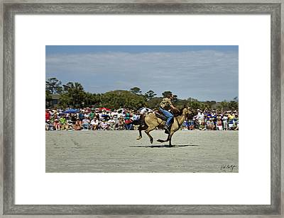 Has A Big Lead Framed Print by Phill Doherty
