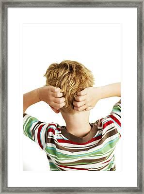 Head Lice Framed Print by Ian Boddy