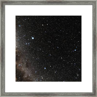 Hercules Constellation Framed Print by Eckhard Slawik