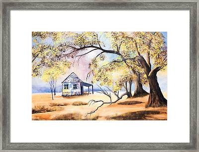Home Home On The Range Framed Print by Coralie Smyth