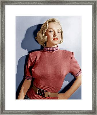 Home Town Story, Marilyn Monroe, 1951 Framed Print by Everett