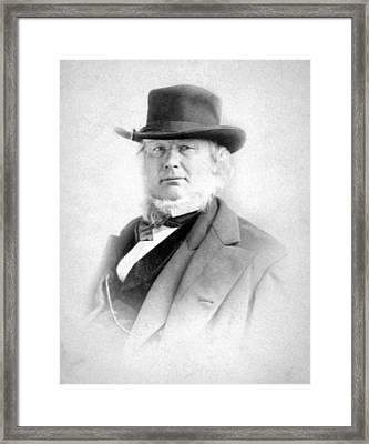 Horace Greeley 1811-1872 Framed Print by Everett