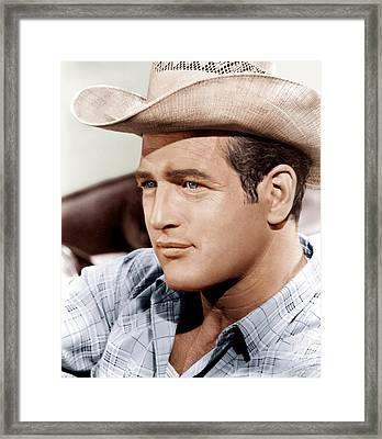 Hud, Paul Newman, 1963 Framed Print by Everett