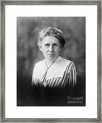 Ida M. Tarbell (1857-1944) Framed Print by Granger