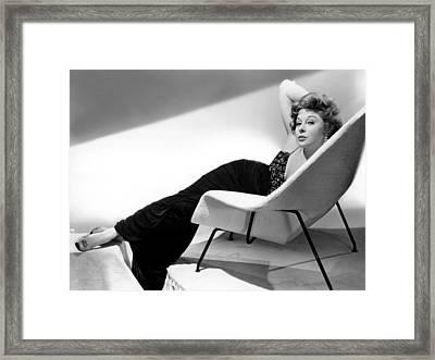 Ill Cry Tomorrow, Susan Hayward, 1955 Framed Print by Everett