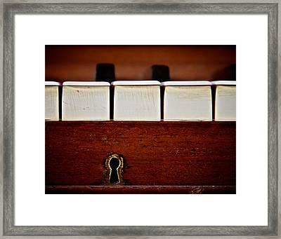 In The Key Of C Framed Print by Odd Jeppesen