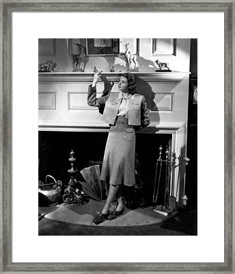 Intermezzo, Ingrid Bergman, 1939 Framed Print by Everett