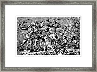 Ireland: Cruelties, C1600 Framed Print by Granger