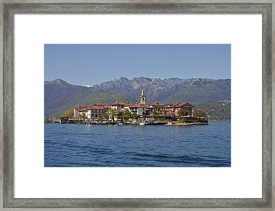 Isola Dei Pescatori Framed Print by Joana Kruse