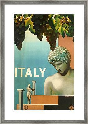 Italy Framed Print by Georgia Fowler