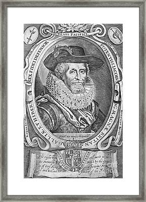 James I (1566-1625) Framed Print by Granger
