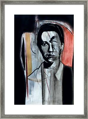 Jean Genet Framed Print by Fabrice Plas