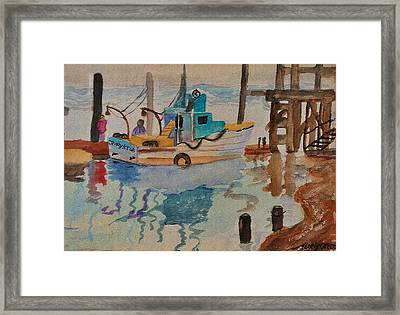Jerrys Tub Framed Print by Kenny Cannon