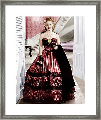 Jezebel, Bette Davis, 1938 Framed Print by Everett