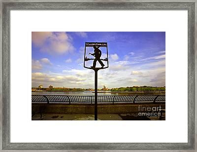 John Finley Walk IIi Framed Print by Madeline Ellis